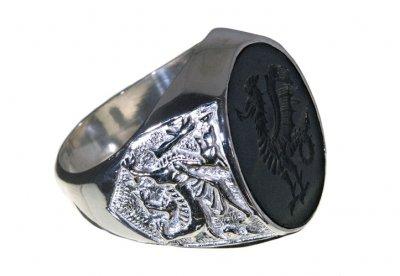 Regnas Signet Ring - Seal Ring