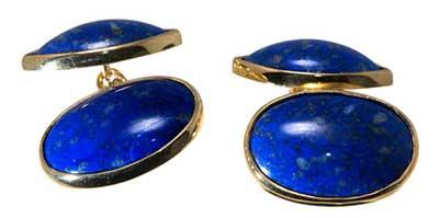 Cufflinks - double ovals