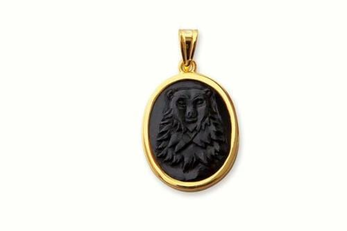 Black Bear Pendant