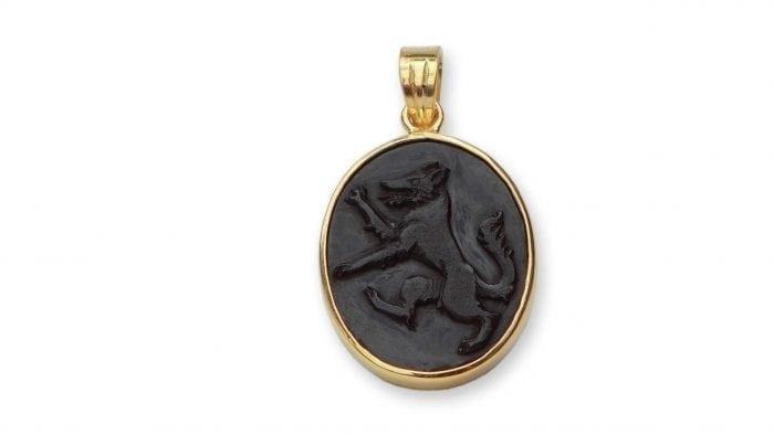 Black Wolf Pendant