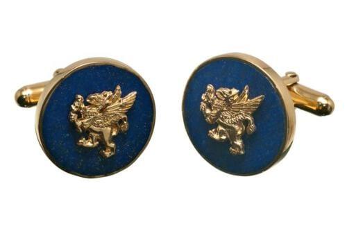 Lapis Lazuli griffin cuff links