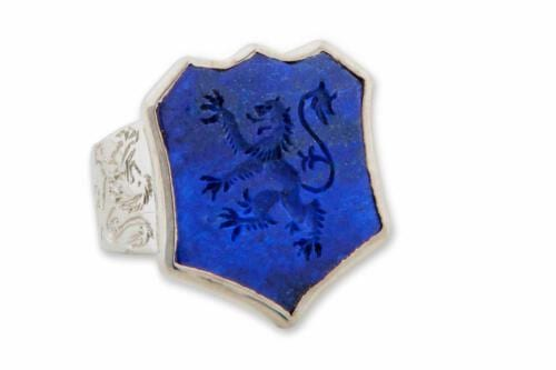 Lion Ring Shield shape