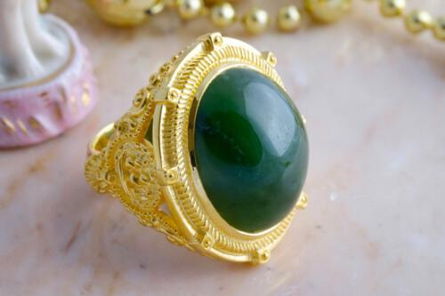 Canada Jade ring - Maritime shoulders