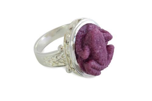 Frog Ring Byzantine Style