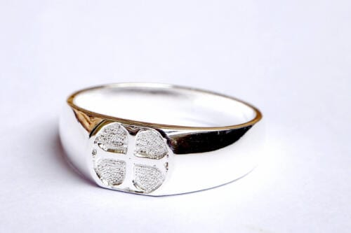 Sterling Silver Templar Cross Ring