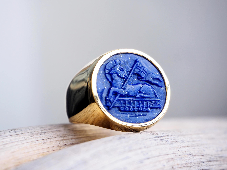 Lamb of God ring