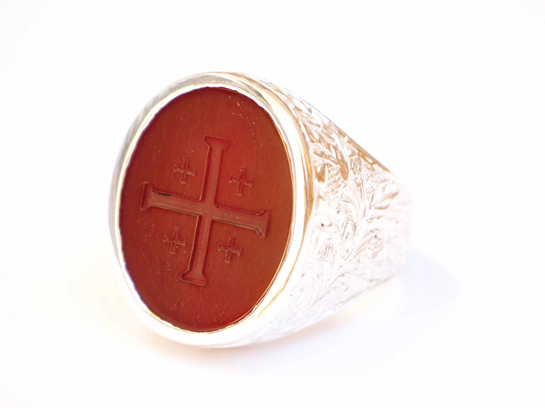 Jerusalem Cross ring
