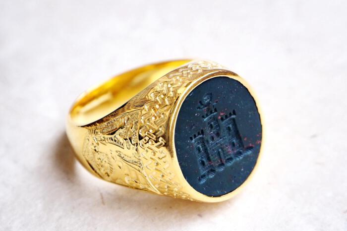 Scottish Castle ring