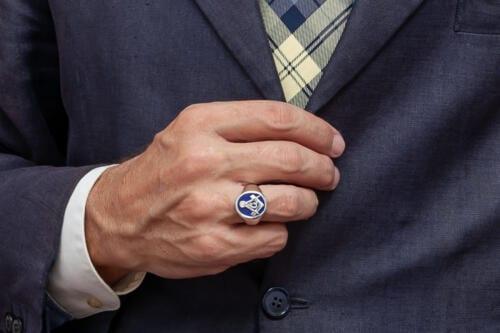 Small Masonic Ring