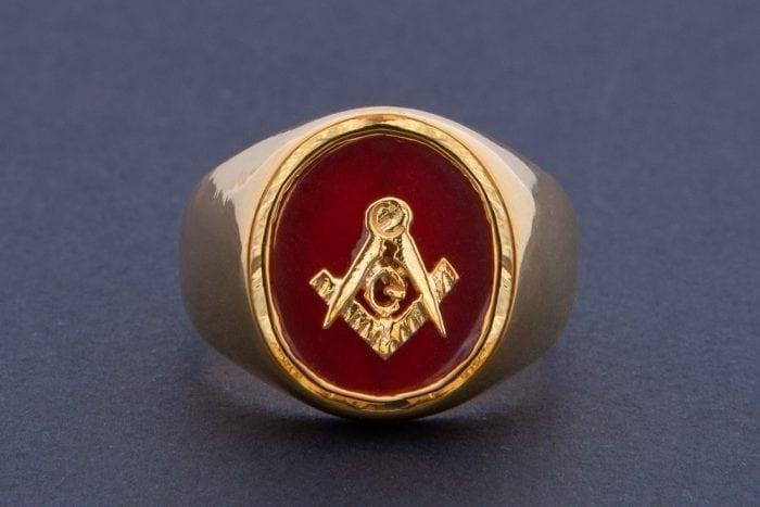 Masonic Ring Overlaid