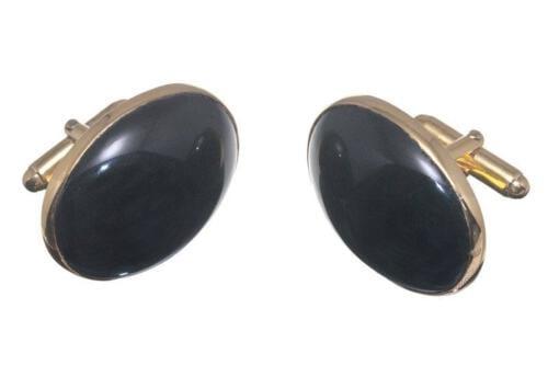 Black Onyx Cufflinks Giant Size