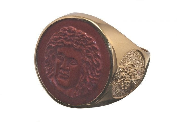 Greek God ring