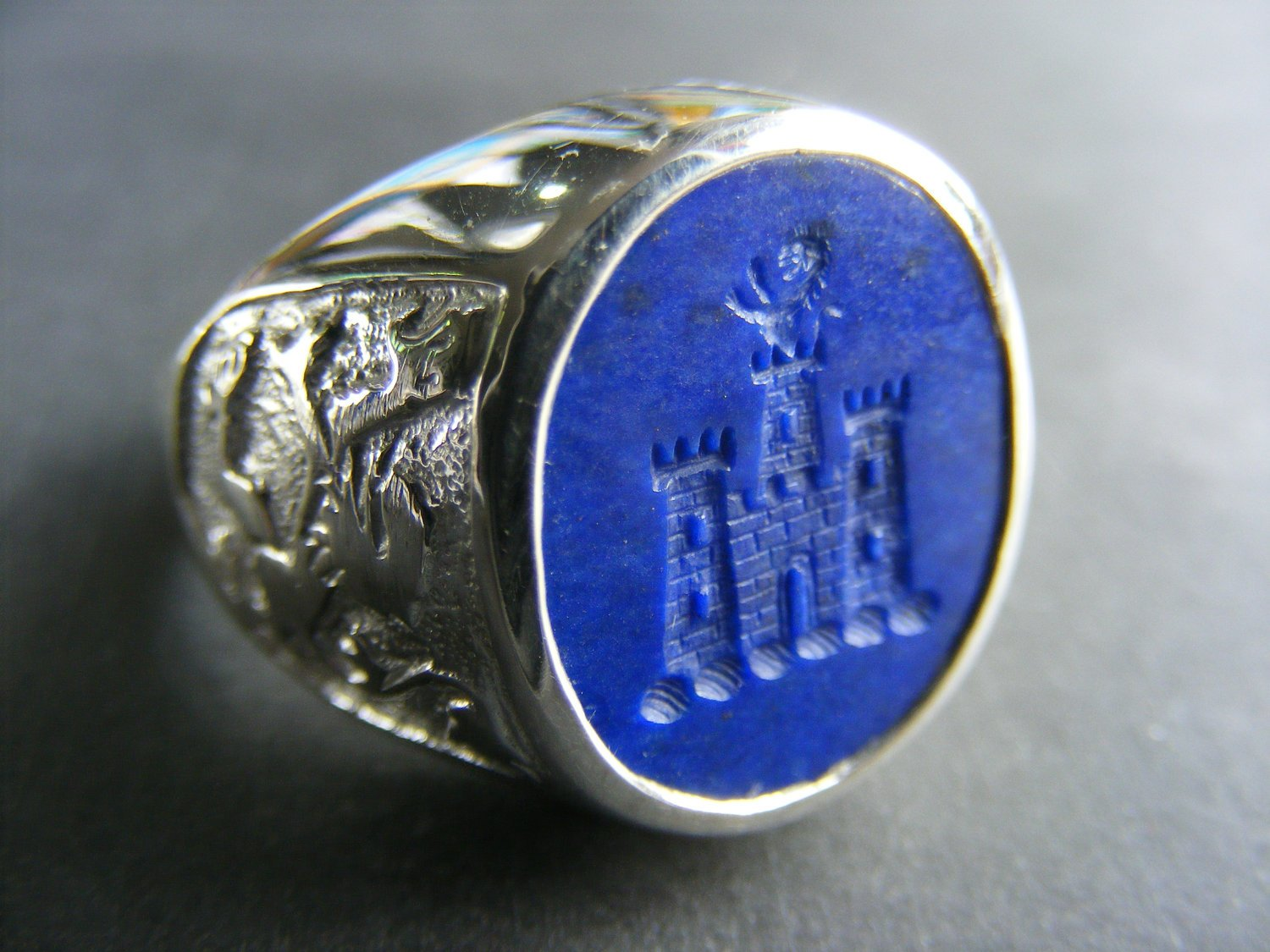 Ring With Castle