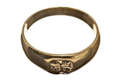 Templar Cross Ring Faithful Reproduction 13th Century