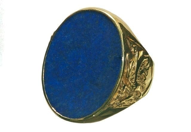 Lapis Celtic ring - Regnas Jewelry