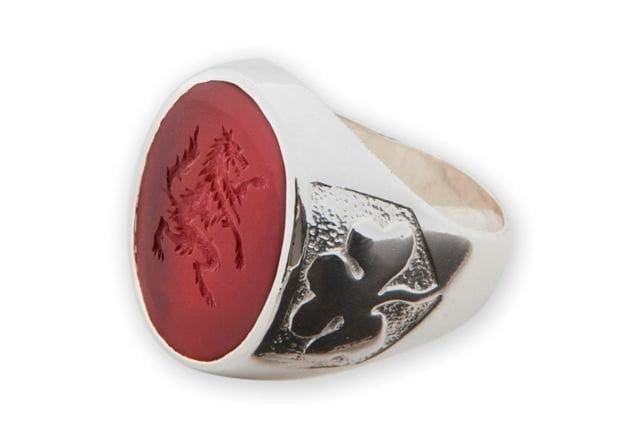 Wolf Ring - Red Agate