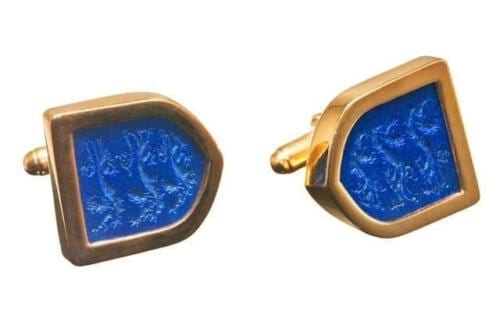 England Three Lions Cufflinks - Gold Plated Sterling Silver