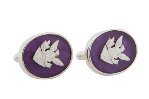 Seal of Office Amethyst Cufflinks CLHASS0041