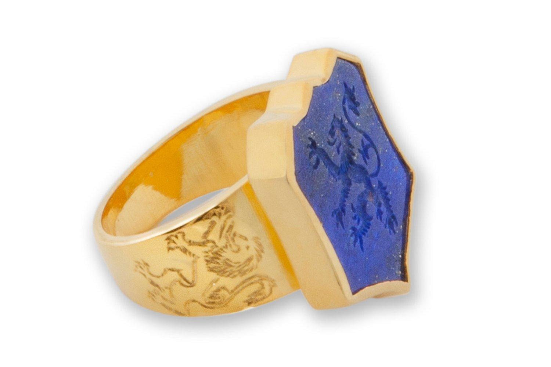 La[is lion ring