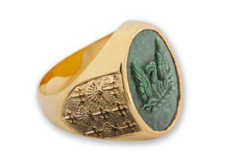 Jade Phoenix Ring