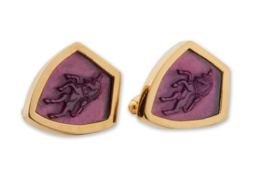 Unicorn Amethyst Cufflinks CLHSHAGPS1143