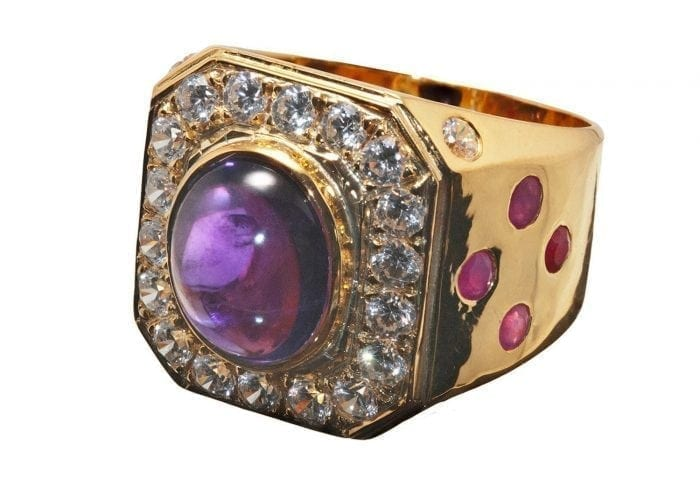 Amethyst Bishop's ring
