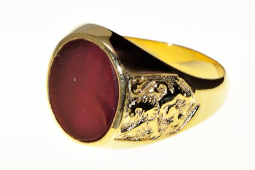 Red agate ring - Regnas Jewelry