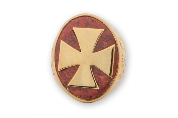 Templar Cross Ring