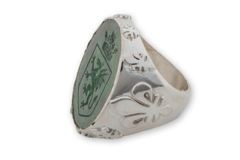 Jade Albite Ring - Regnas Jewlry