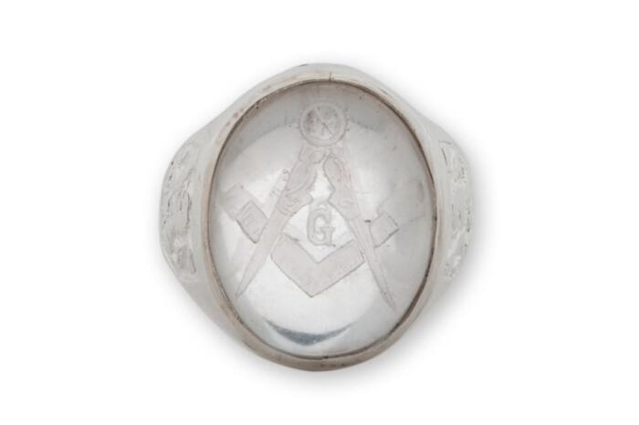 Masons ring - Regnas Jewelry