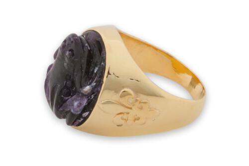 Amethyst Frog Ring Special - FRATGPS515
