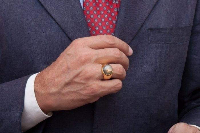 Moonstone Ring - Regnas Jewelry