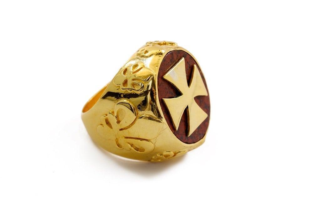 Red Jasper Ring - Regnas Jewelry