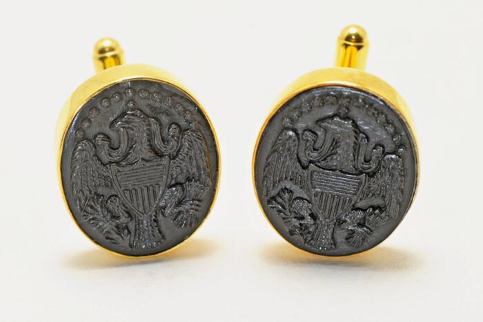 American seal of office cufflinks