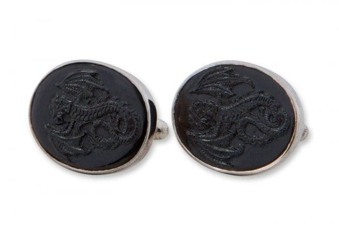 Celtic Dragon cufflinks