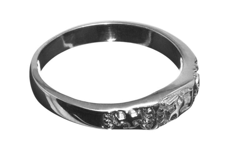 13th Century Templar Cross Masonic Ring