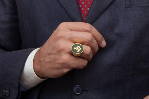 Jade Masonic Ring