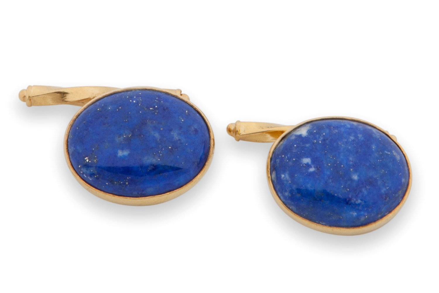 Lapis Chain Cufflinks