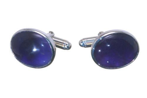 Amethyst Cufflinks Mini Oval - CLHATSS353