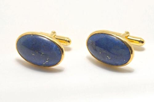 Lapis Cufflinks - Regnas Jewelry