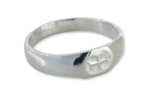 Silver Masonic Templar Cross Ring