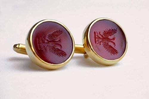 Eagle cufflinks - Regnas Jewelry