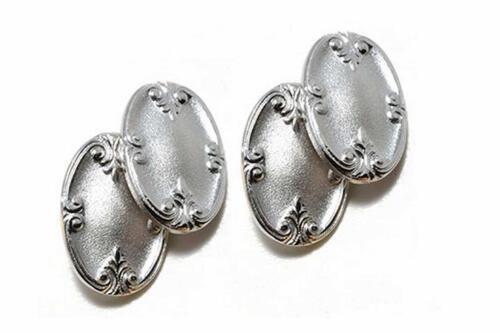 Vintage cufflinks - Ewardian style - Silver