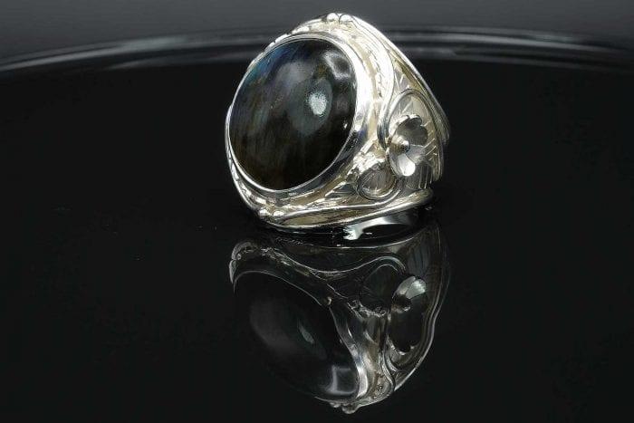Round Labradorite Ring - Regnas