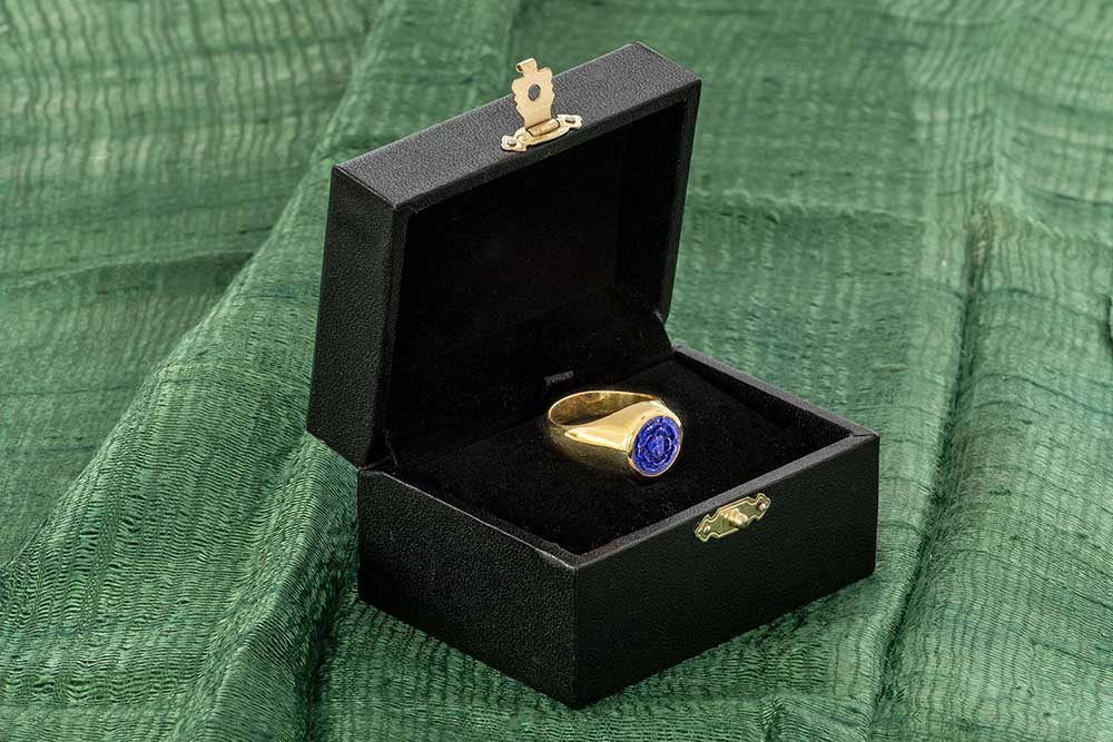 gold Rosicrucian ring