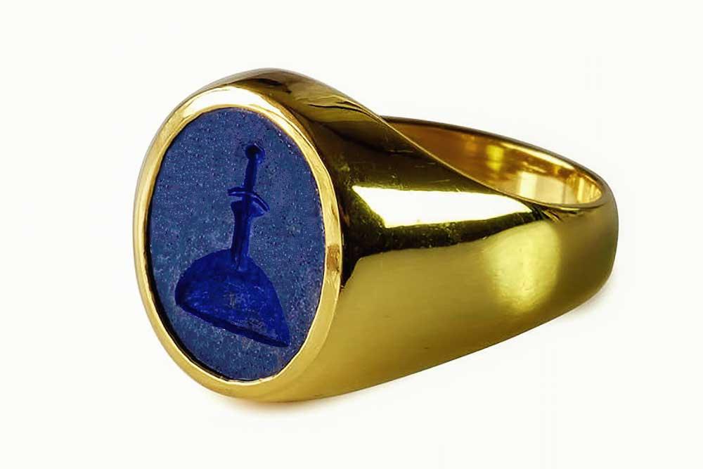 Gold King Arthur Ring