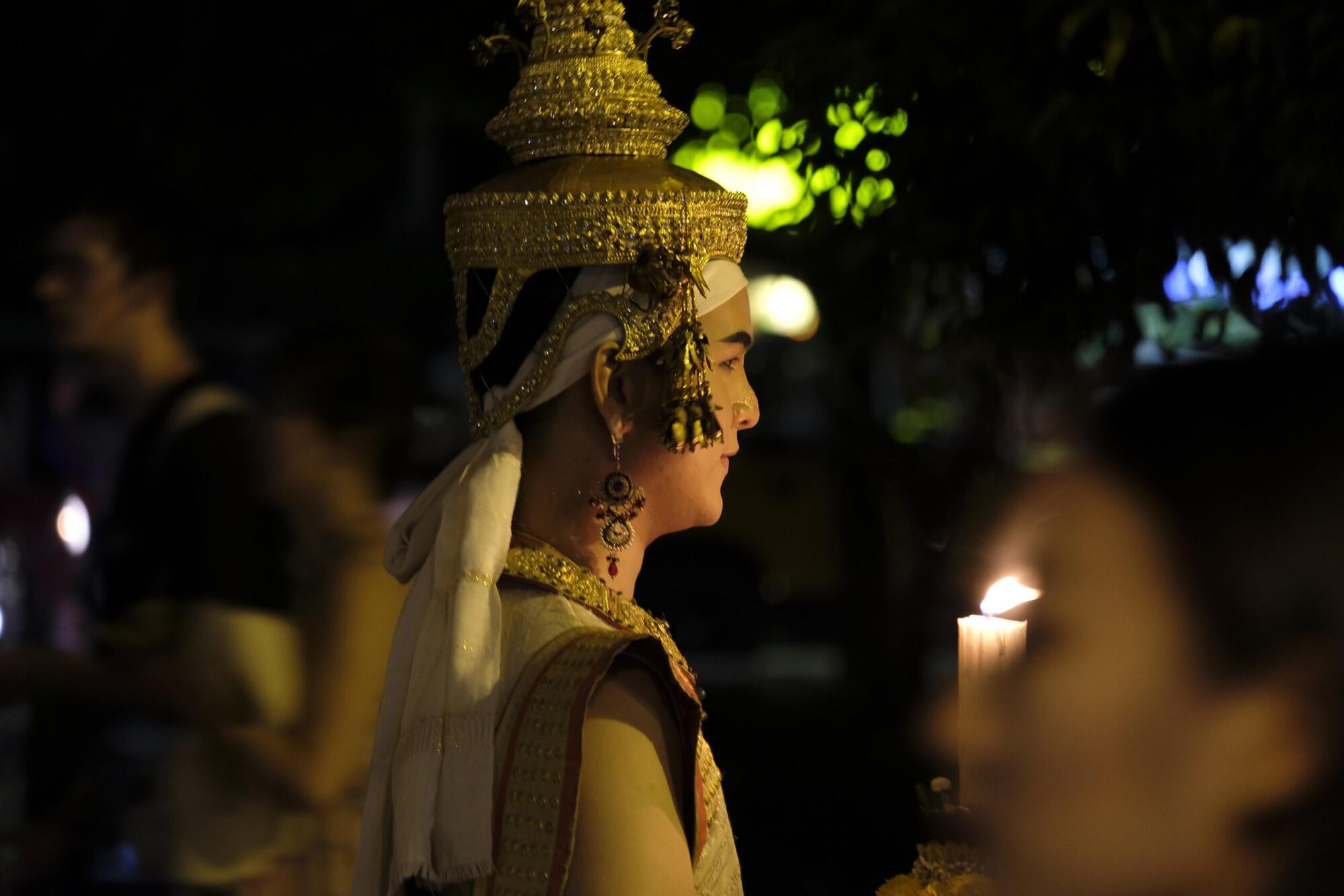 loy Krathong parade Chiang Mai 2020