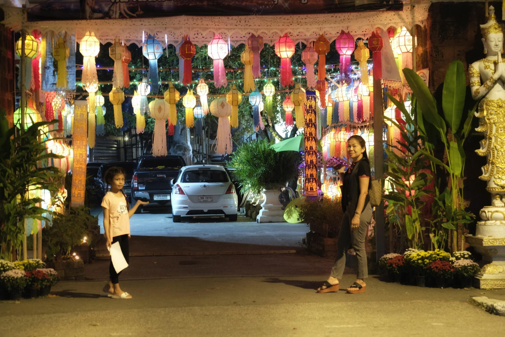 lanterns at temple