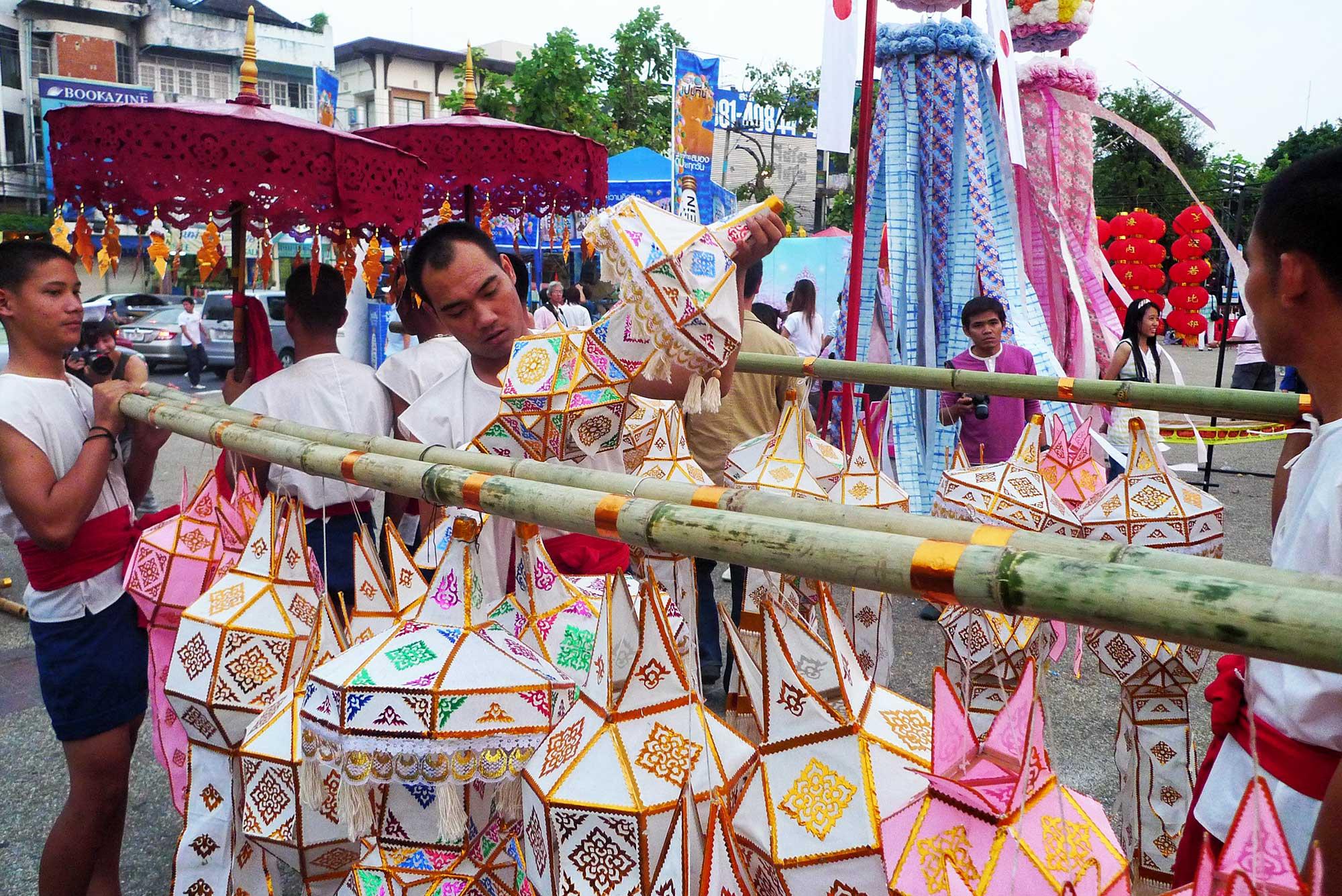 Loy Krathong lanterns