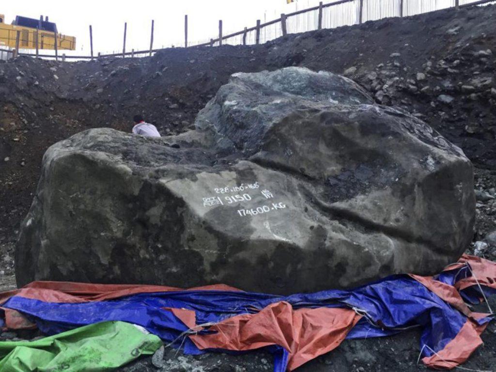 Giant Jade rock